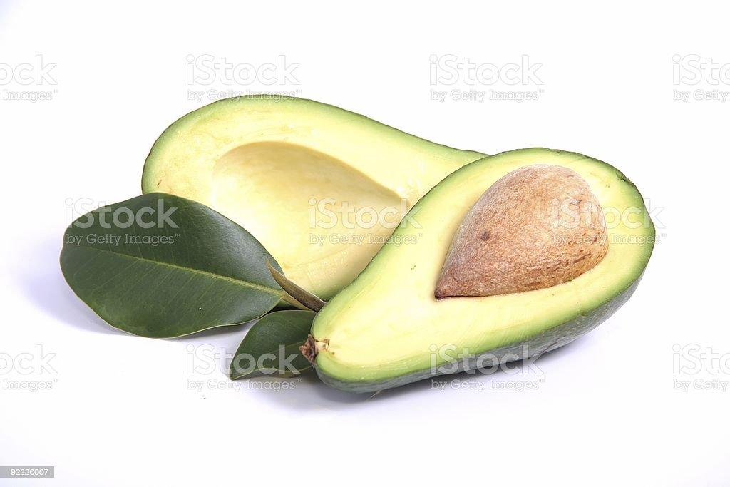 Avocado Pear Fruit royalty-free stock photo