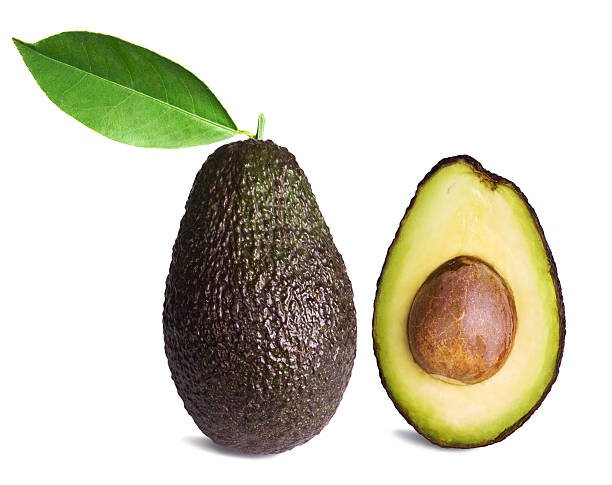 avocado - ripe stock photos and pictures
