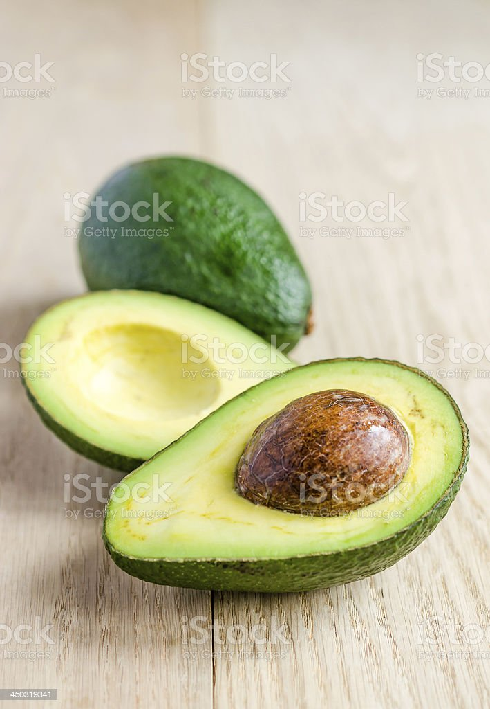 Avocado stock photo