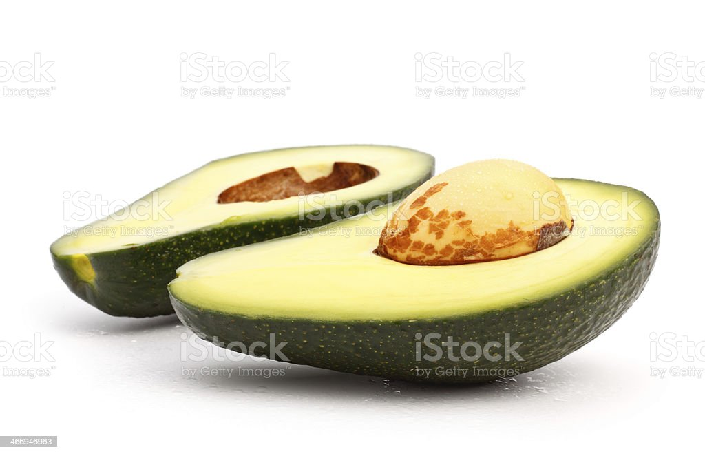 avocado slices royalty-free stock photo