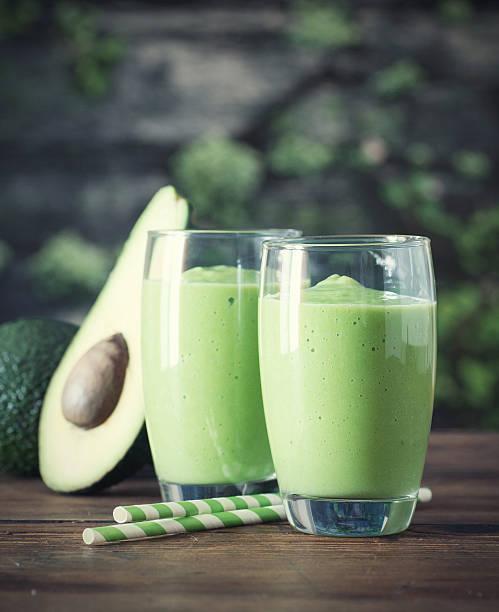 Avocado Smoothie, stock photo