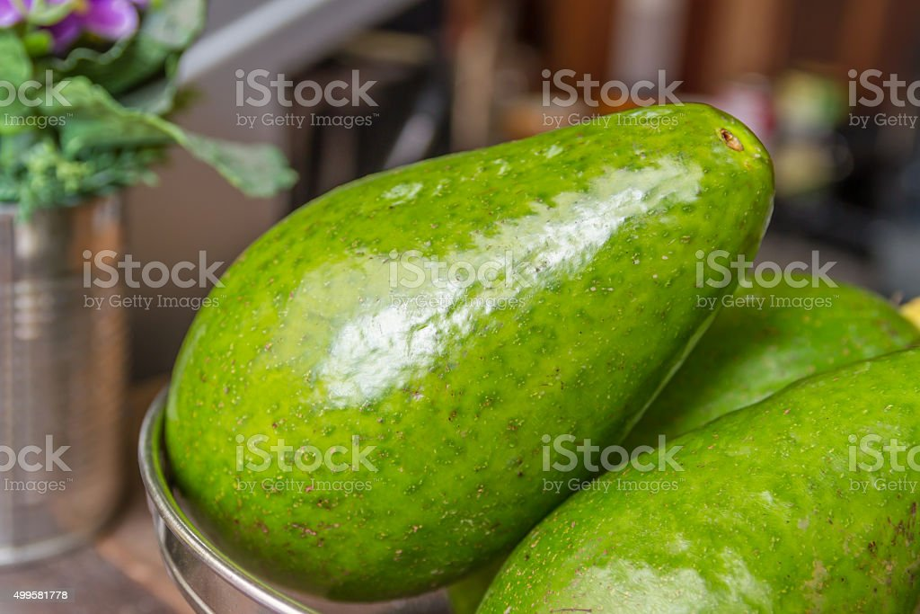 avocado-3 stock photo