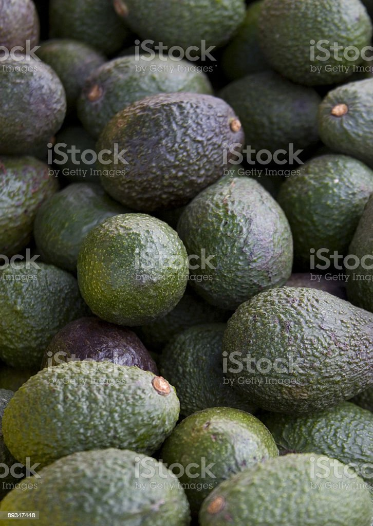 Avocadoes stock photo