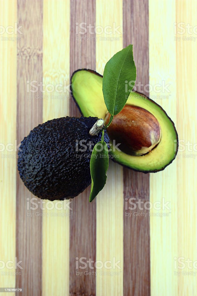 Avocados royalty-free stock photo