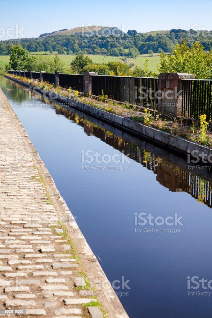 Avon Aqueduct Union Canal Edinburgh Scotland UK stock photo
