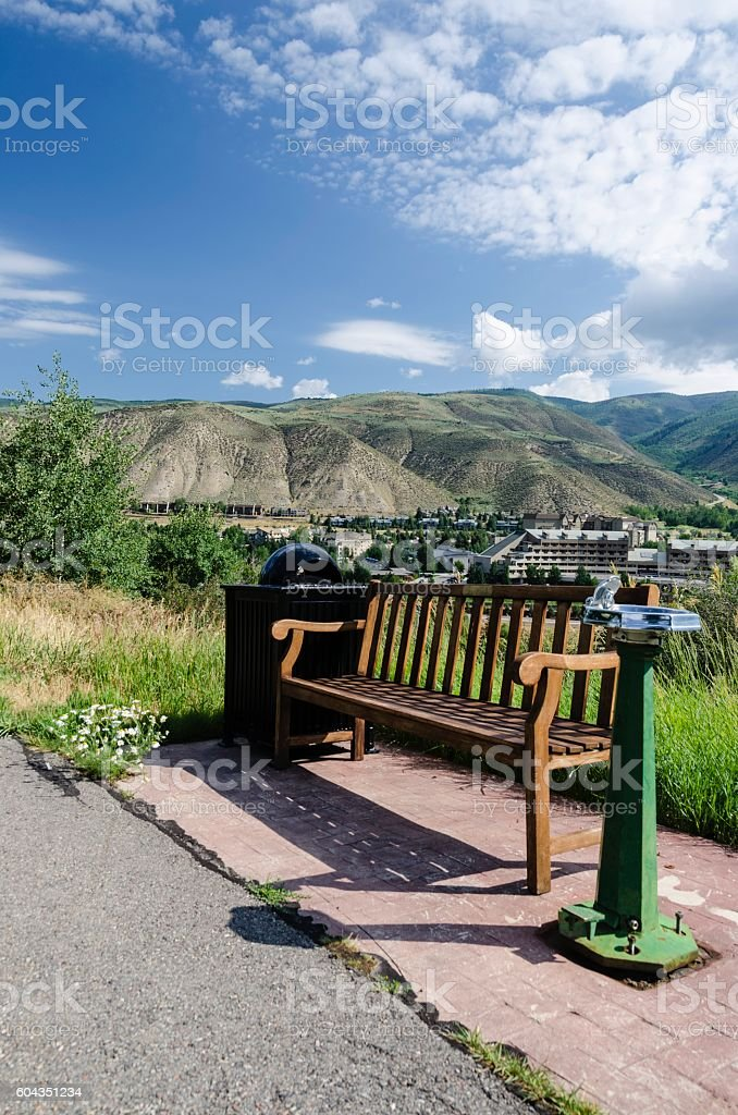 Avon Colorado stock photo