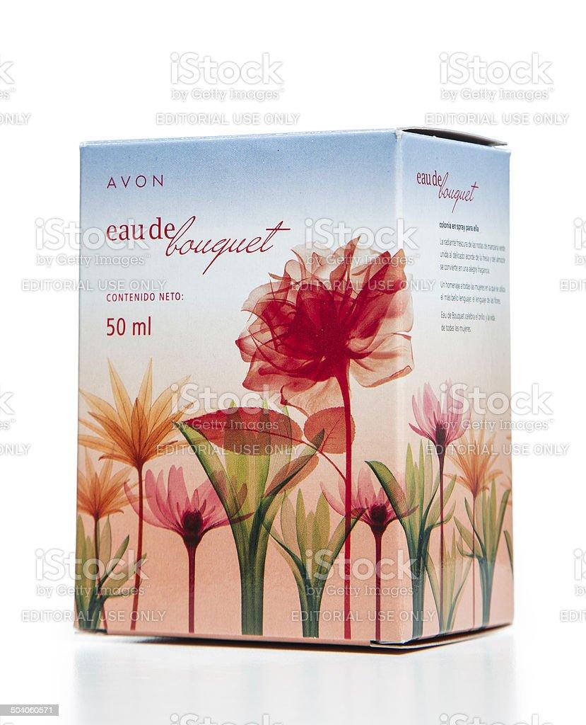Avon Eau De Bouquet Spray Parfum Package Stock Photo More Pictures