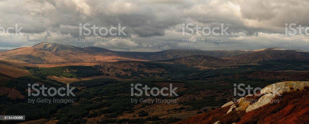 ...Avonmore headwaters valley... stock photo