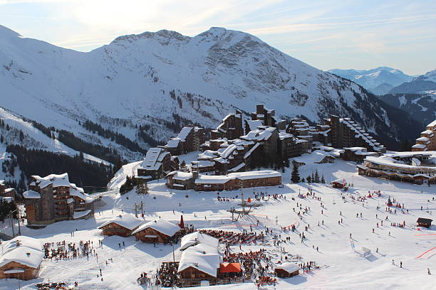 Avoriaz en France - Photo