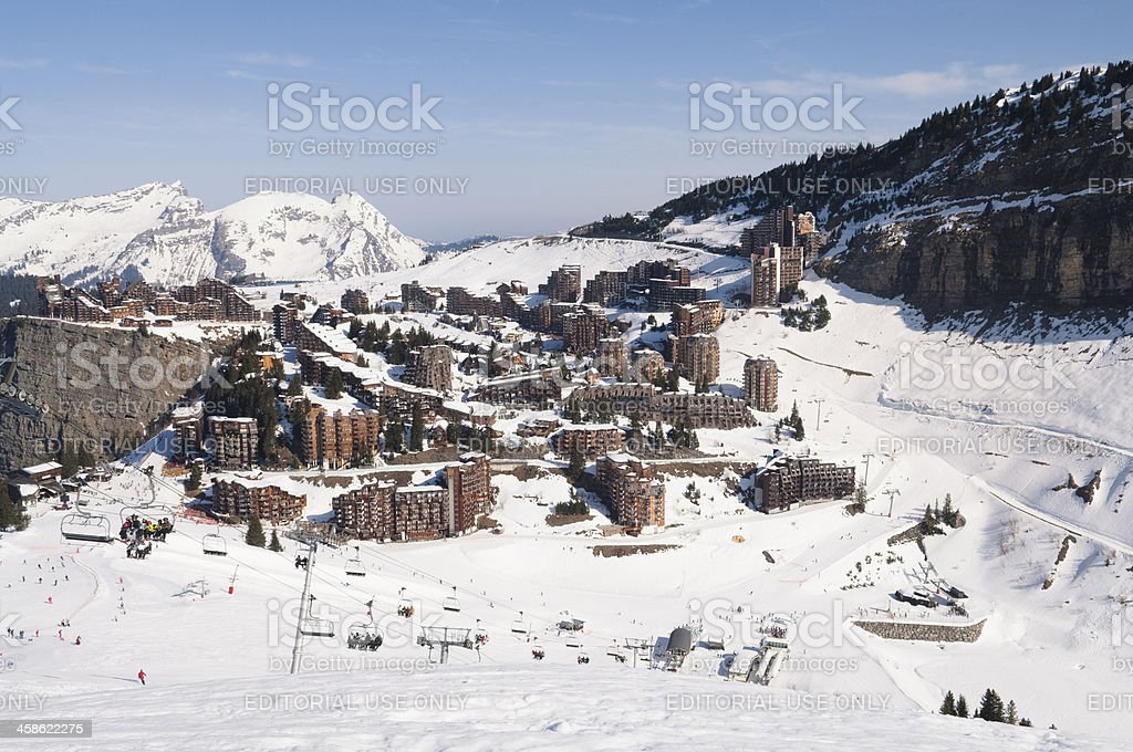 Avoriaz Ski resort, en France - Photo
