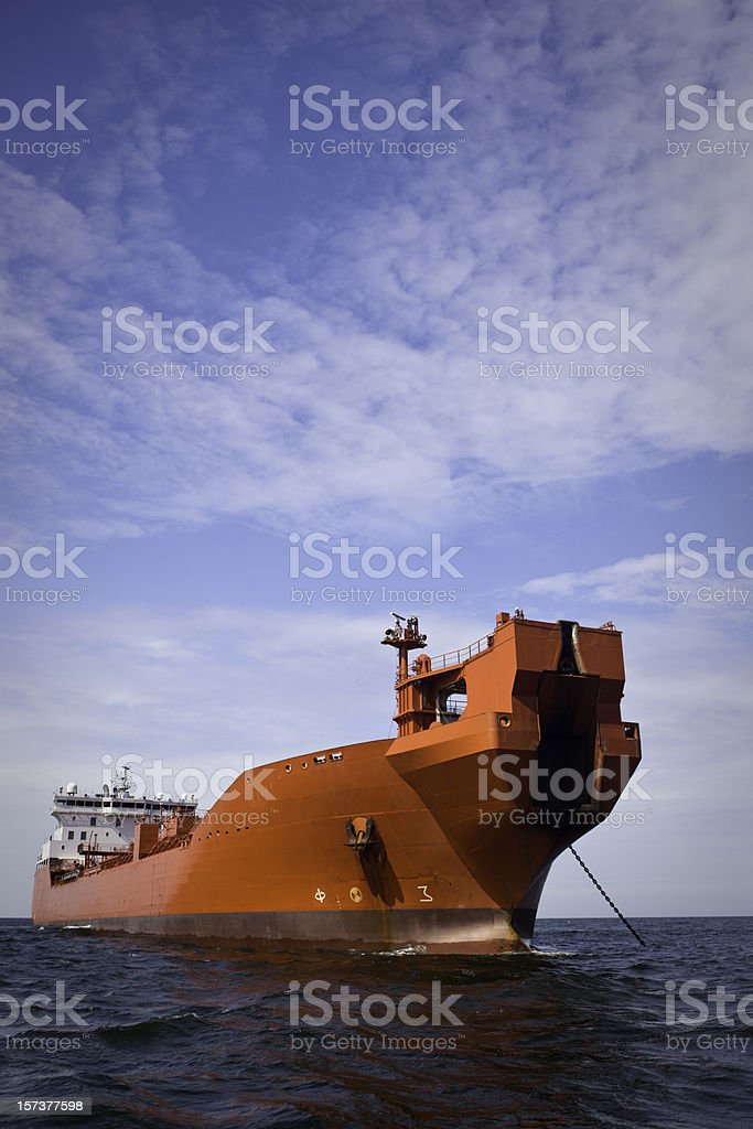Awaiting Arrival royalty-free stock photo