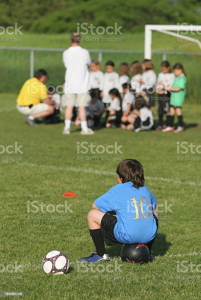Awaiting Opponents stock photo