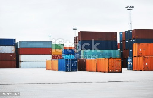 697974610 istock photo Awaiting transport to foreign locales 507243697