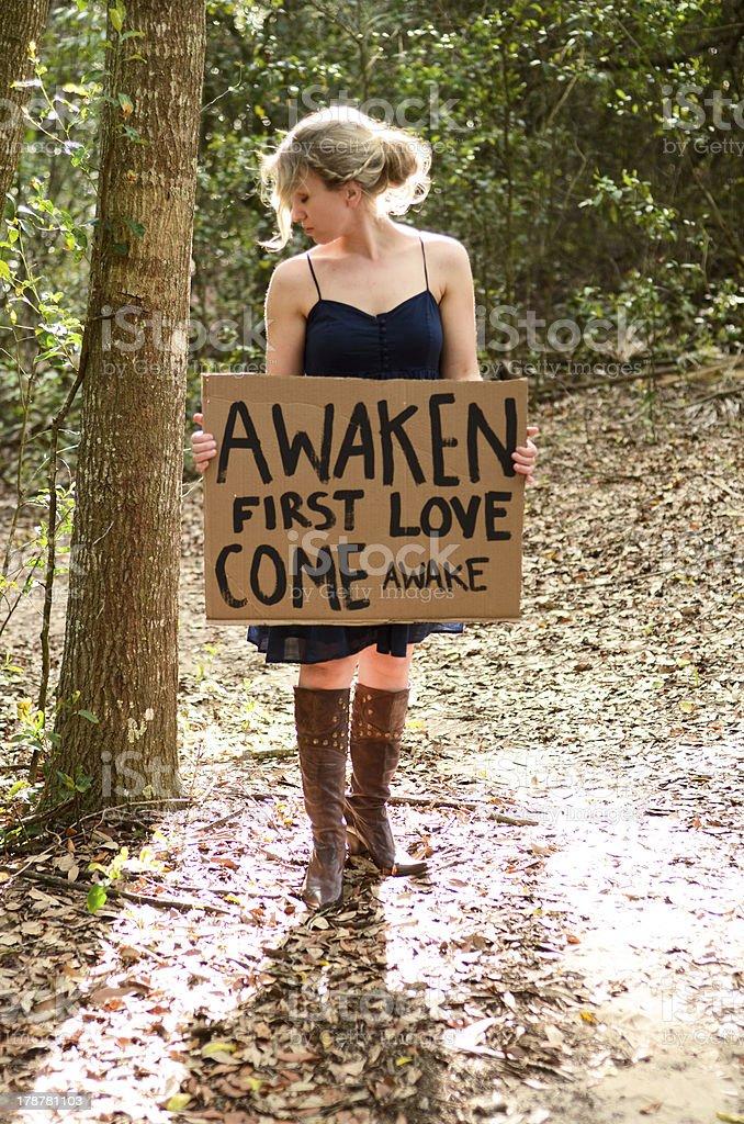 Awaken First Love stock photo