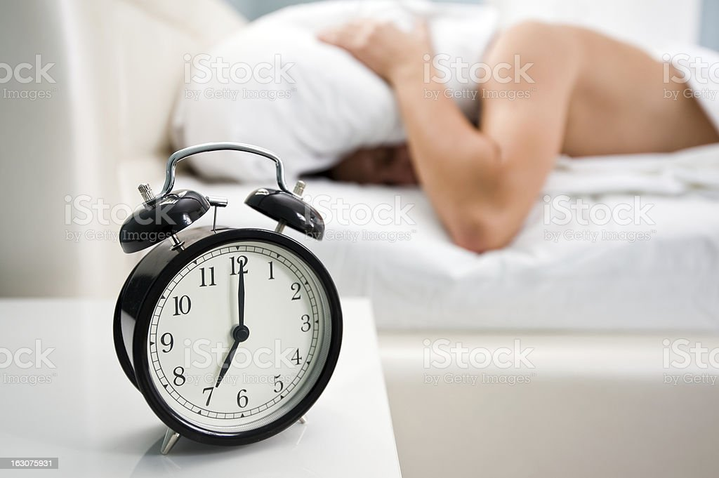 awaking royalty-free stock photo