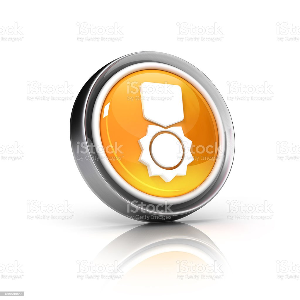 award 3d icon royalty-free stock photo