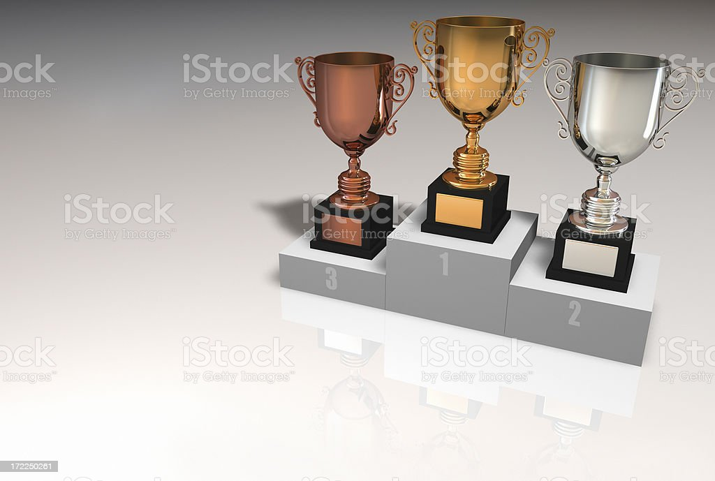 award cup royalty-free stock photo