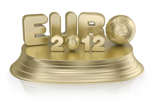 Award - EURO 2012 stock photo