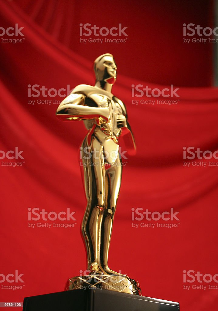 award goes to royalty-free stock photo