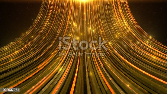 istock Award light background. Gold tint. 992937254