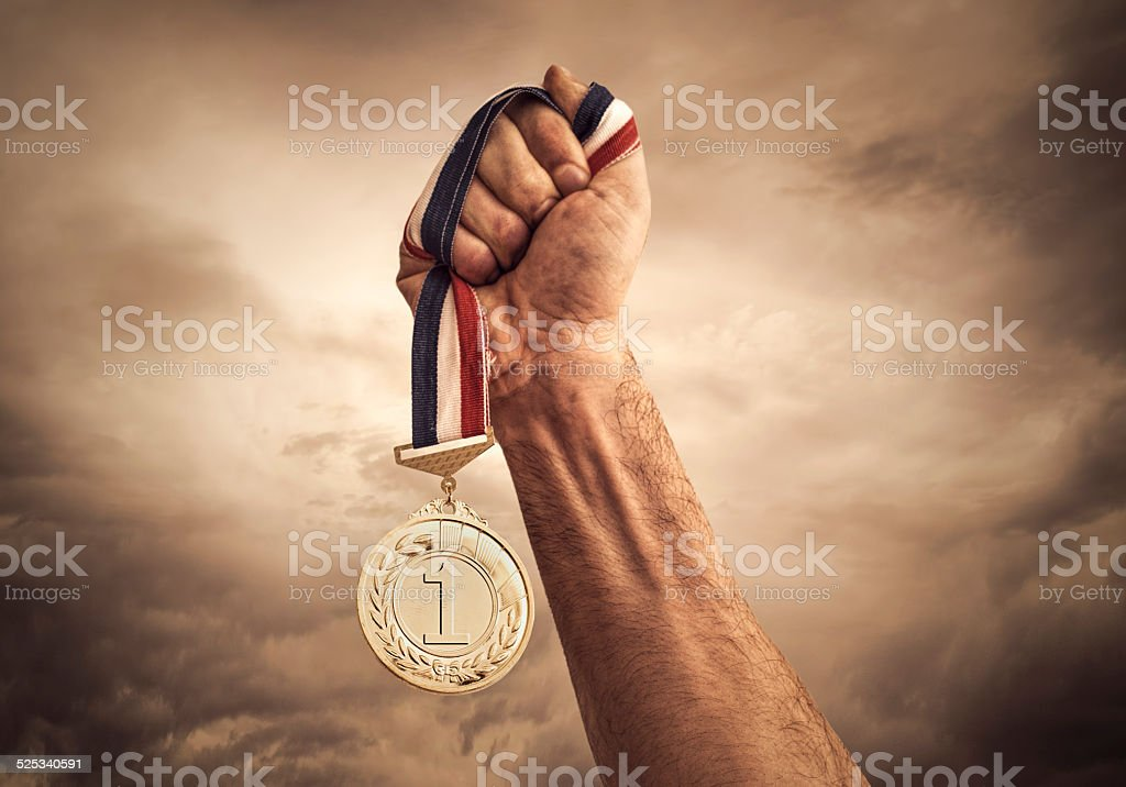 Award of Victory stock photo