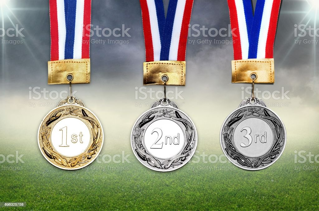 Award. stock photo