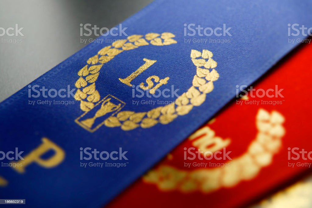 Award Ribbons royalty-free stock photo
