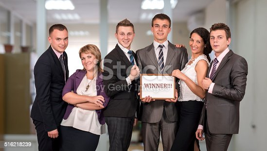 istock Award winning business team 516218239
