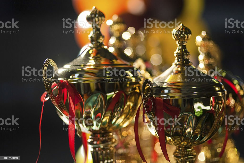 awards and trophies - Royalty-free Achievement Stock Photo