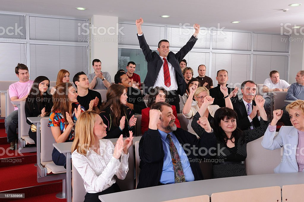 Awards ceremony royalty-free stock photo