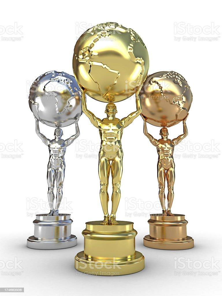 Awards stock photo
