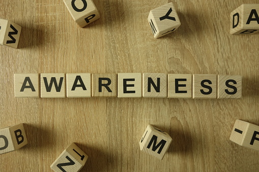 istock Awareness word from wooden blocks 1130261684