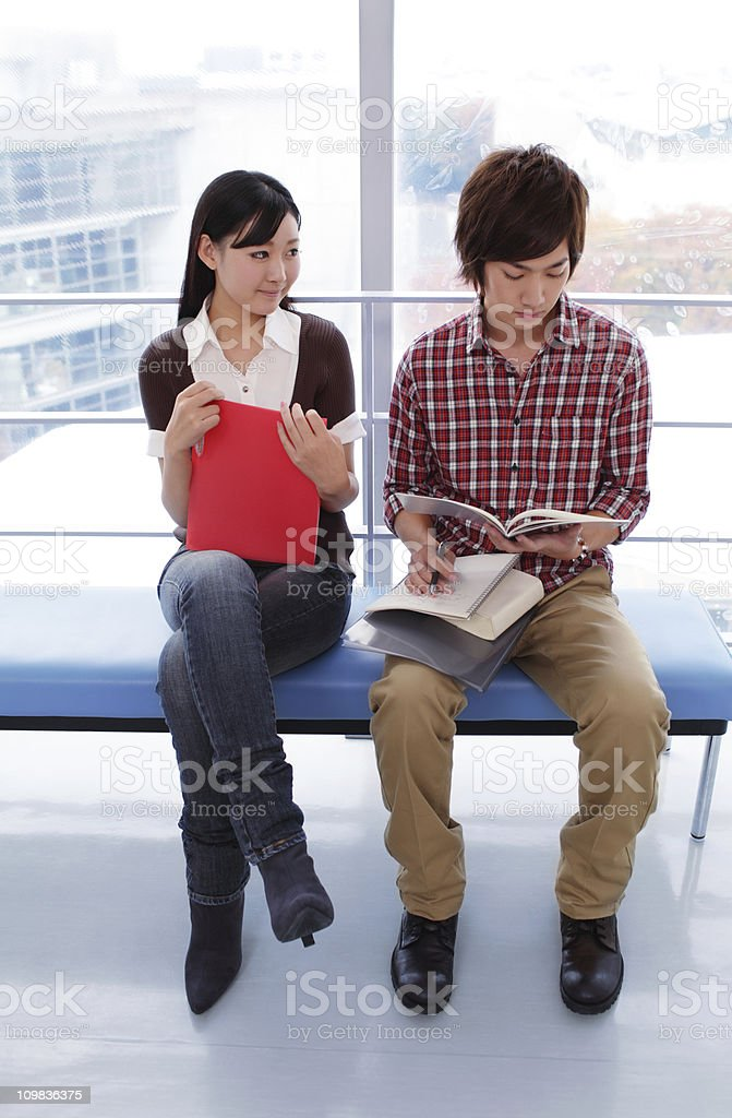 Away from books royalty-free stock photo
