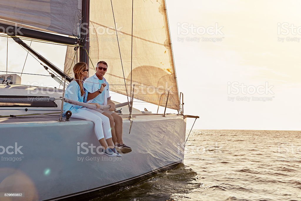 Away from distractions and everyday life stock photo