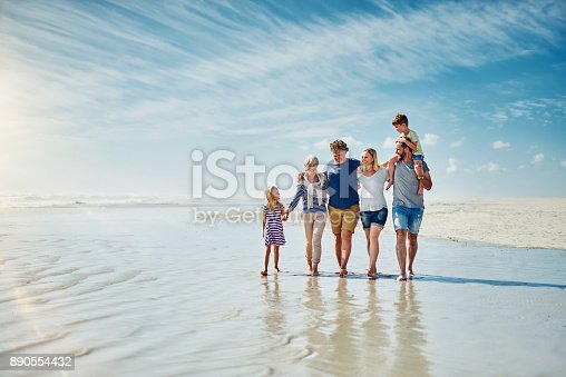 istock Away from the crowds with the people who truly matter 890554432