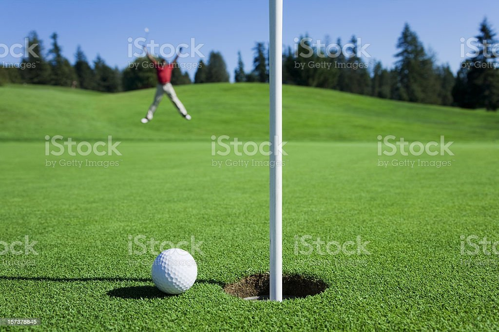 Awesome Chip Shot stock photo