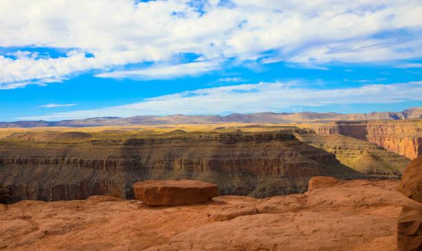 Awesome Landscape from South Rim of Grand Canyon, Arizona, United States stock photo