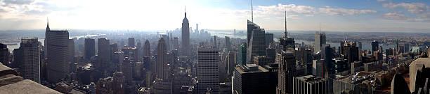 Awesome New York Skyscraper Panaroma stock photo