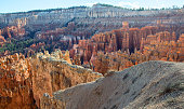 Awesome rock formation in the Bryce Canyon National Park. Utah, United States