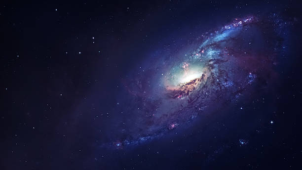 Awesome spiral galaxy many light years far from the Earth Awesome spiral galaxy many light years far from the Earth. Elements furnished by NASA nebula stock pictures, royalty-free photos & images