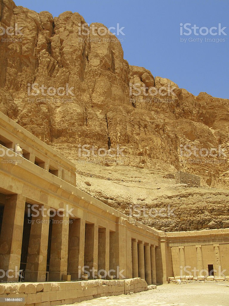 Awesome Temple of Queen Hatshepsut. Kings Valley, Egypt stock photo