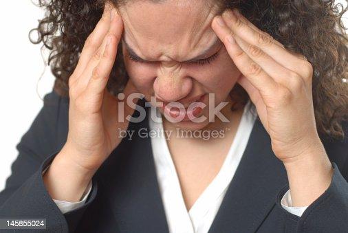 istock Awful migraine 145855024