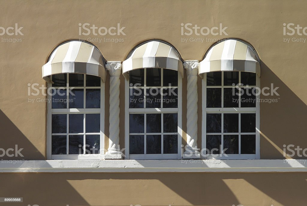 awning shadow royalty-free stock photo