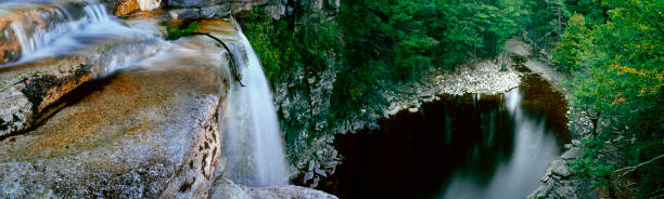 Awosting Falls in The Gunks stock photo