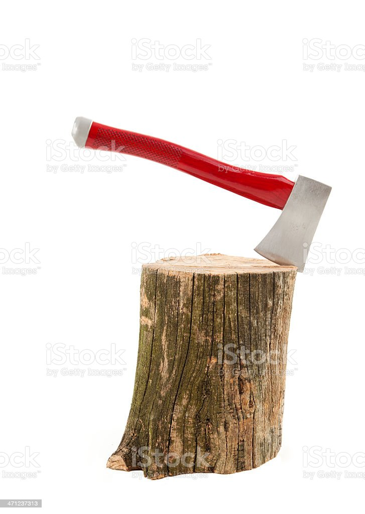 Axe on black stock photo