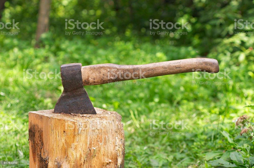 axe stock photo
