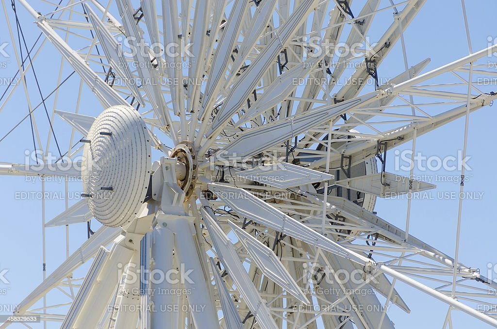Axis from the Wheel of Excellence in Cape Town royalty-free stock photo