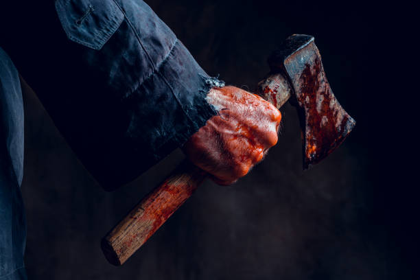 axe - killer stock photos and pictures