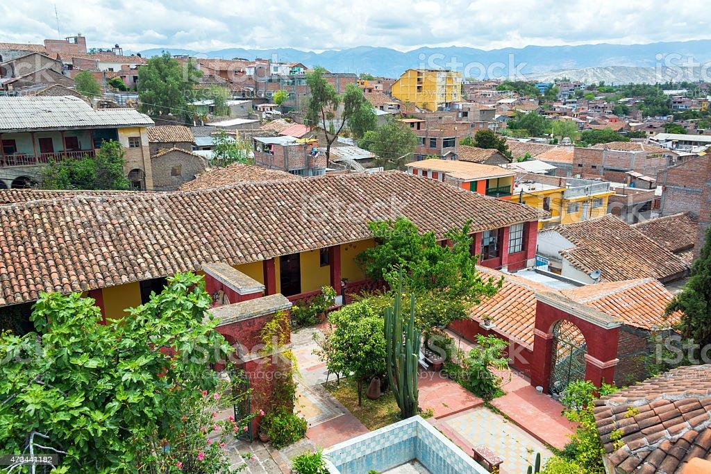 Ayacucho, Peru Cityscape stock photo