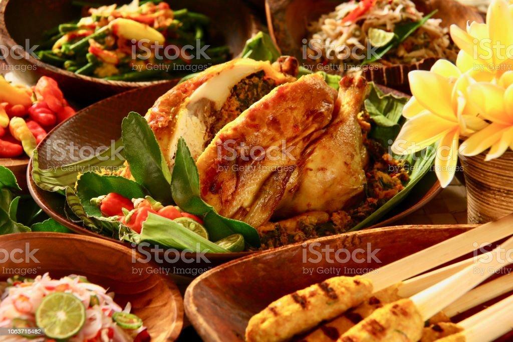 Ayam Betutu The Balinese Roast Chicken With Cassava Leaves